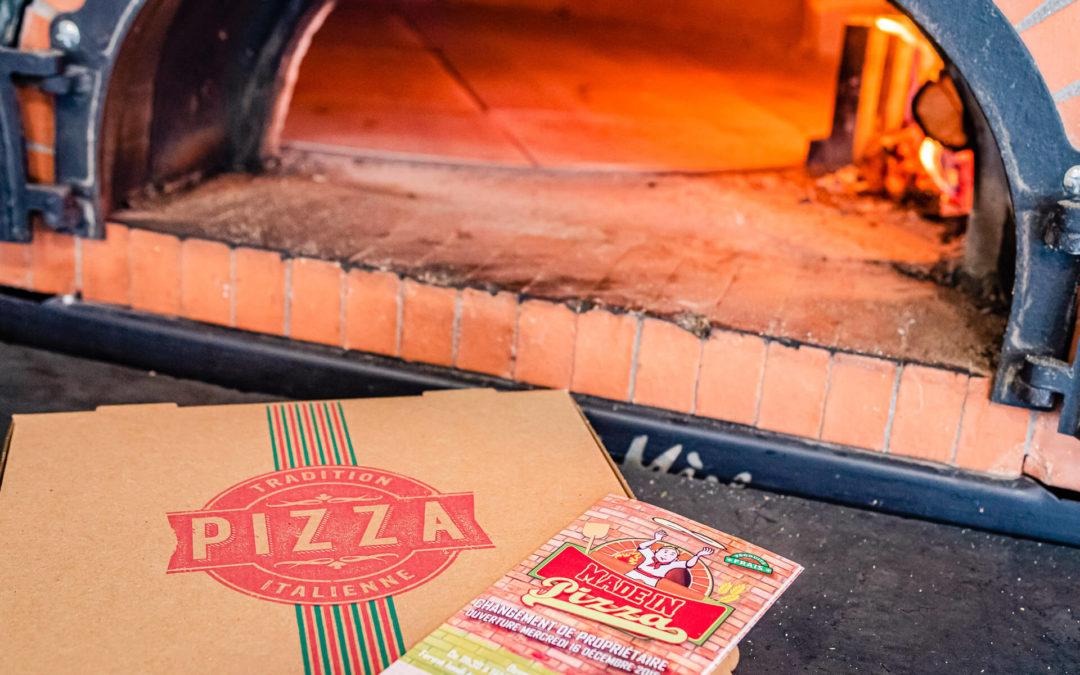 Votre pizza à emporter à proximité de Nancy