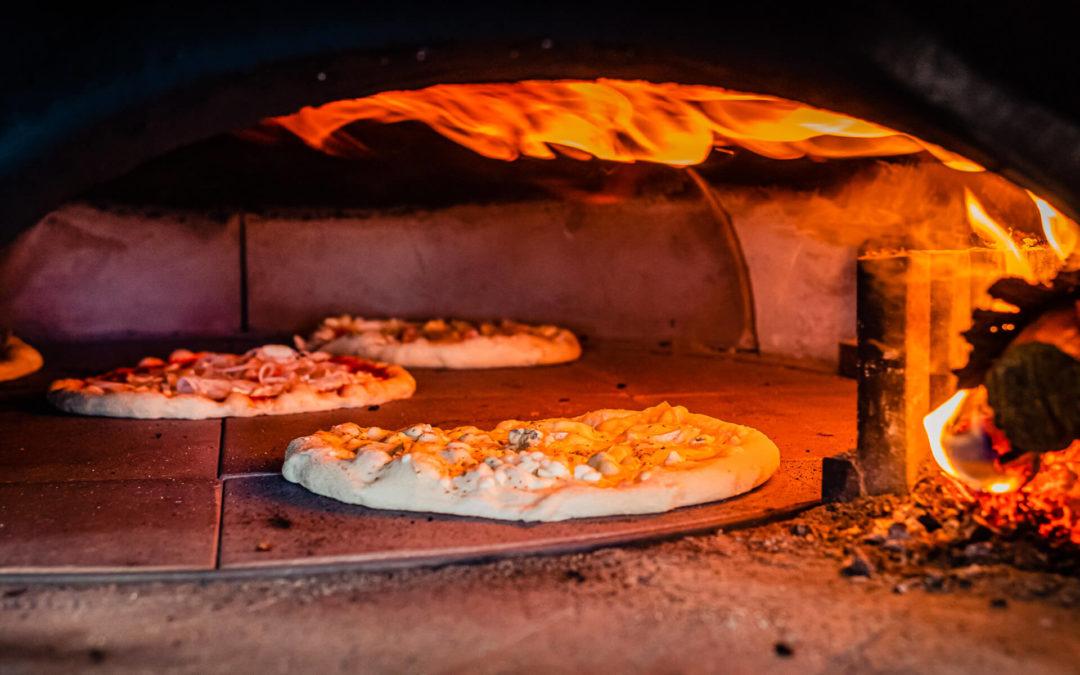 Pizza au feu de bois près de Nancy