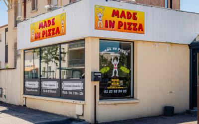 Commander des pizzas à Laneuville